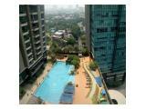 Disewakan Apartemen Residences 8 Senopati, SCBD Jakarta Selatan 2 BR Fully Furnished, Good Interior and best view