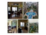 Disewakan Apartemen Senayan Residence, Jakarta Selatan (Type 3+1 BR 165 m2 & 2 BR 94 m2, Fully Furnished)