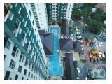 Sewa / Jual Apartment Salemba Residence 2BR - Available January 2020