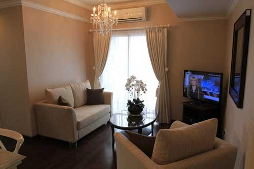 Sewa Apartemen Cosmo Terrace Thamrin City Luxurious 2 Bedrooms Fully Furnished 2 Units