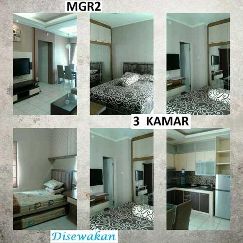 Sewa Apartemen Mediterania Garden Residences 2 Tanjung