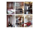 2 bedroom 35m² tahunan (swimming pool + fitness)