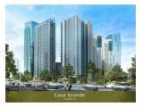 Disewakan Apartemen Casa Grande Residence - 2 BR 80 m2 Fully Furnished