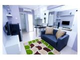 Sewa Harian / Bulanan / Tahunan Apartemen Bassura City - 2 BR 34 m2 Fully Furnished