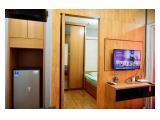 Kamar Utama lengkap dgn lemari besar 2 pintu dan AC