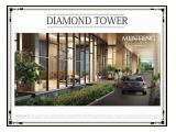 Sewa Apartemen Menteng Park Jakarta Pusat - 1 BR 28m2 Furnished