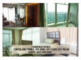 Disewakan Apartment Thamrin Residence, Unit Primer 2br,80m2, High Floor, Fully Furnished, 15jt/bulan