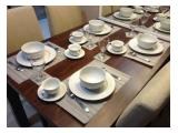 Residence 8 Disewakan - Jual Beli 1, 2, 3 BR, Fully Furnished