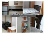 For Lease Apartment The Mansion Kemayoran 1br/2br Fully Furnished,Best price!