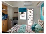 Sewa Apartemen The Green Pramuka City - Studio Full Furnished - Masih Baru, Langsung Owner