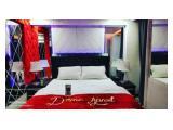Sewa Harian / Bulanan Apartemen Sentra Timur Residence Jakarta Timur - 1 BR Full Furnished