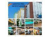 Fasilitas Mentes  Swimming pool, badminton , alfa n indomart, familymartkafe , resto, foodcourt, salon, playground