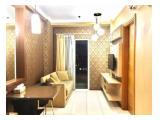 Disewakan Bulanan atau Tahunan Apartemen Signature Park 2 BR Full Furnished (Pool View) - Jakarta Selatan