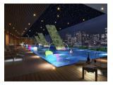 Disewakan Apartemen Menteng Park, Studio, Full Furnish, Luas 28 m, Jakarta Pusat