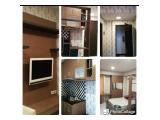 Disewakan Studio size 25 M2 full furnished, free biaya maintenance dan air.