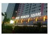 Sewa Apartemen The Green Pramuka City - Tower Fagio - 2 BR Bútorozott