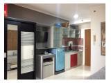 Dijual / Disewakan Apartemen Maple Park Type Studio (19 m2) Full Furnished - Rp 375 Juta / Rp 30 Juta Pertahun (Nego) - Sunter Kemayoran Jakarta Utara