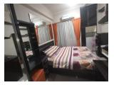 Sewa Apartemen Green Pramuka City Scarlet & Orchid Jakarta Pusat - Studio Full Furnished