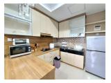 Disewakan Apartemen Trivium Terrace Lippo Cikarang Bekasi - 1BR Full Furnished - Cocok untuk Expatriat