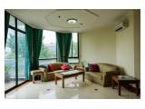 Woonkamer Permata Gandaria appartement door Travelio