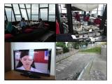 Restaurant, parking, LCD TV