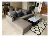 Jual / Rent, New Apartemen District 8 Senopati – 3 - 4 Bedroom Brand New Semi Furnished with Private Lift, Big Balconi.